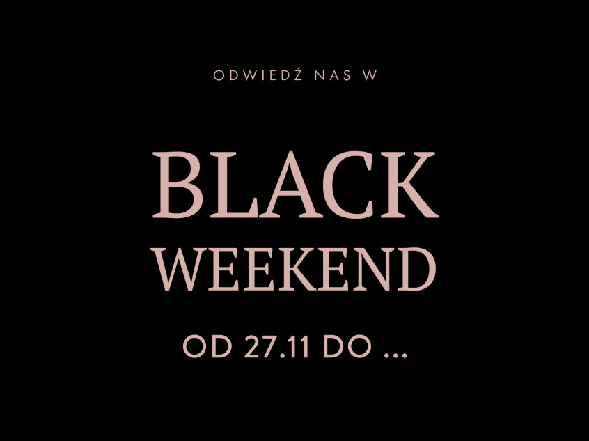 black weekend popup